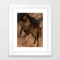 Divine Steed Framed Art Print