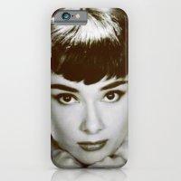 Presenting Miss Hepburn iPhone 6 Slim Case