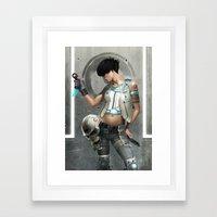 Deviline Framed Art Print