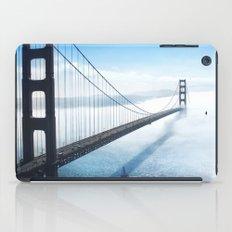golden gate bridge river iPad Case