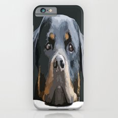 Rottweiler Portrait Vector Slim Case iPhone 6s