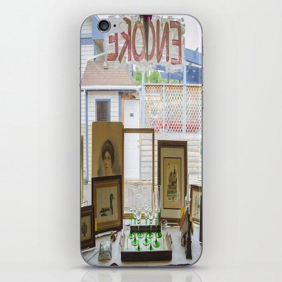 Store window  iPhone & iPod Skin