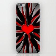 Starfish with heart 3 iPhone & iPod Skin