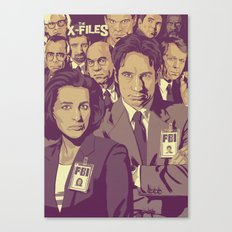 THE X-FILES v1 Canvas Print