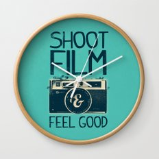Shoot Film Wall Clock