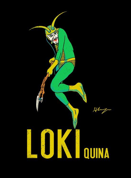 Loki Quina Art Print