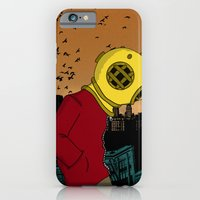 iPhone & iPod Case featuring City Diving by Igor Miná