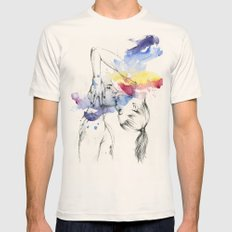 22.06.15 Mens Fitted Tee Natural SMALL
