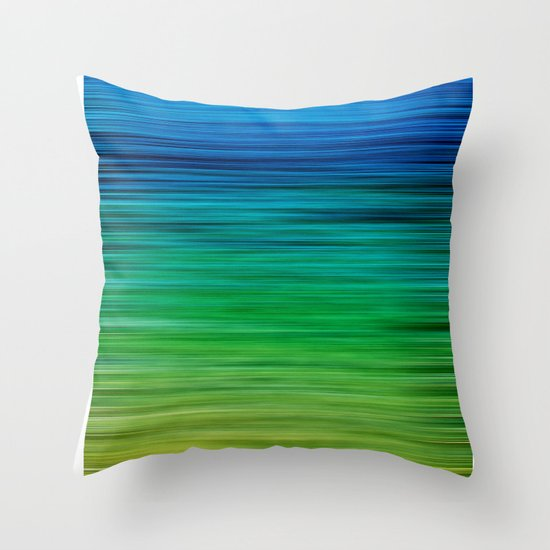 SEA BLUES Throw Pillow