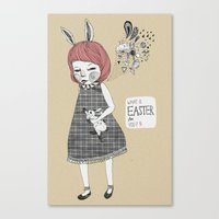 What's the Easter for you? Canvas Print