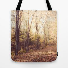 New England Autumn Tote Bag
