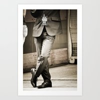 GQ-ish Art Print