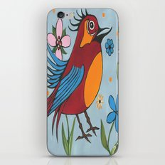 Silly Bird iPhone & iPod Skin