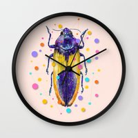 INSECT IX Wall Clock