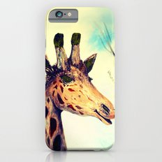 Giraffe Smile -take 2-digital remake Slim Case iPhone 6s