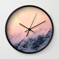 Mount Aspiring Wall Clock