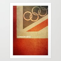 Olympics London 2012 Art Print