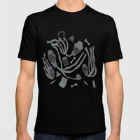 Lost Souls Mens Fitted Tee Black SMALL