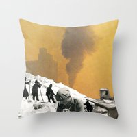 An Industrial Vice Throw Pillow