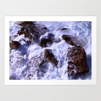 On the Rocks Art Print