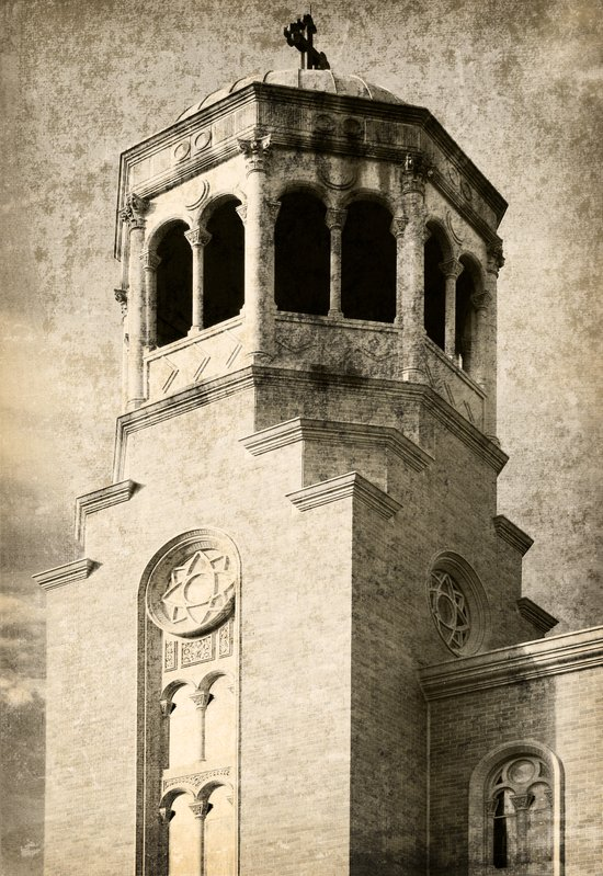 Old Greek Orthodox Church Art Print