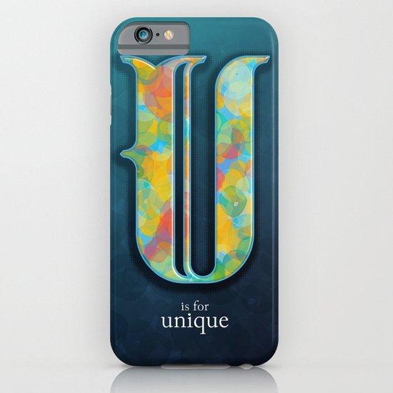 U is for Unique iPhone & iPod Case