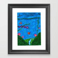 The Magical Forest Framed Art Print