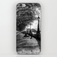 River Thames Path iPhone & iPod Skin