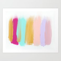 Colors 63 Art Print