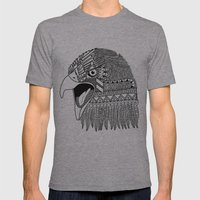 Indian Eagle Mens Fitted Tee Athletic Grey SMALL