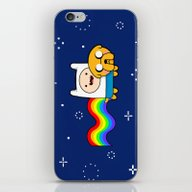 Nyan Time: Adventure Tim… iPhone & iPod Skin