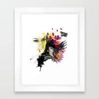 Mingadigm   Hopeful Framed Art Print