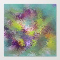 Impressionistic Abstract Canvas Print