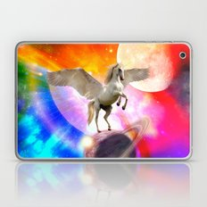 space unicorn. Laptop & iPad Skin