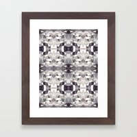 50 Shades Tribal Framed Art Print