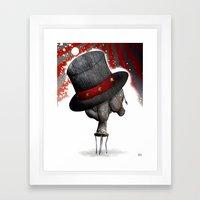 Circus ∫ Animal Surrea… Framed Art Print