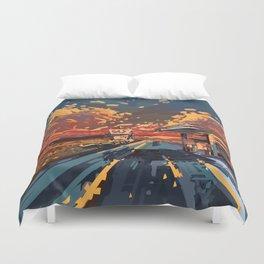 Duvet Cover - american landscape 7 - Bekim ART