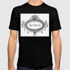 Bar Wench Mens Fitted Tee SMALL Black