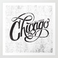 CHICAGO, IL Art Print