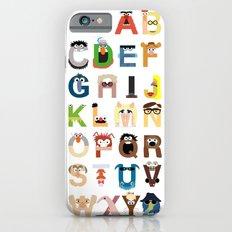 Muppet Alphabet Slim Case iPhone 6s