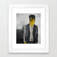 Cloths Make The Man Framed Art Print