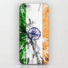 India Flag - Extrude iPhone & iPod Skin