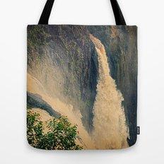 Barron Falls in retro style Tote Bag