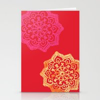 Happy Bright Lace Flower… Stationery Cards