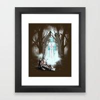 The Fallen Templar Framed Art Print