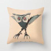 ANGRY BIRD METAL Throw Pillow
