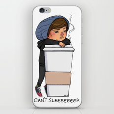 Can't Sleep iPhone & iPod Skin