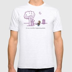 Dr Harold and the Purple Screwdriver Mens Fitted Tee Ash Grey SMALL