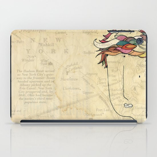 I don't need eyes to see where I am going.. iPad Case