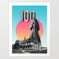 100 Nuns Art Print